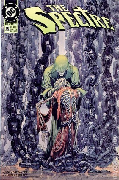 Spectre #2 DC Jim Corrigan Madame Xanadu magic Jon Ostrander Tom Mandrake VF