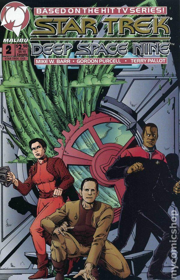 Marvel /& Malibu Star Trek Deep Space 9 Nine comics 1994-97