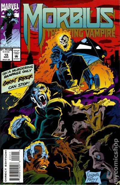 Doctor Who Morbius >> Morbius the Living Vampire (1992) comic books