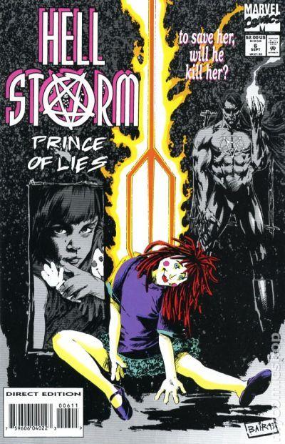 1994 Warren Ellis /& Leonardo Manco Hellstorm Prince of Lies No.18