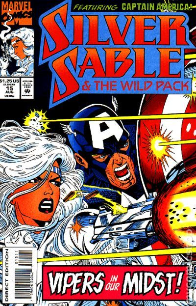 Silver Sable And The Wild Pack  1992  Comic Books