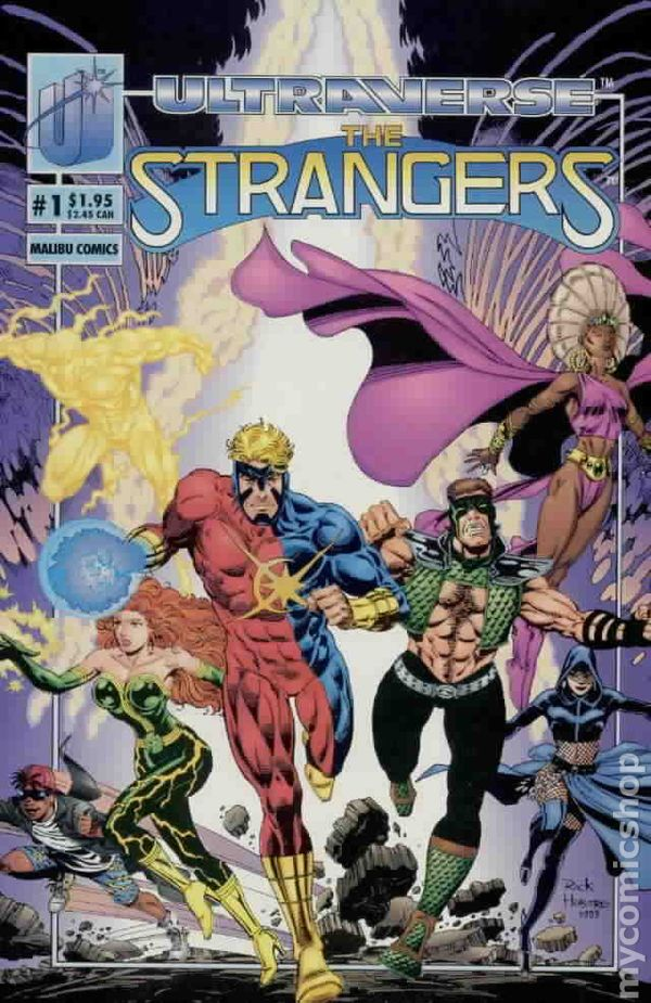 The Strangers 1 A Dare To Dream Comics 1992