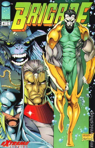 Brigade (1993 2nd Series) comic books