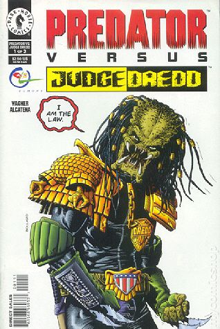 Judge Dredd Vs Hulk Predator vs. judge dredd