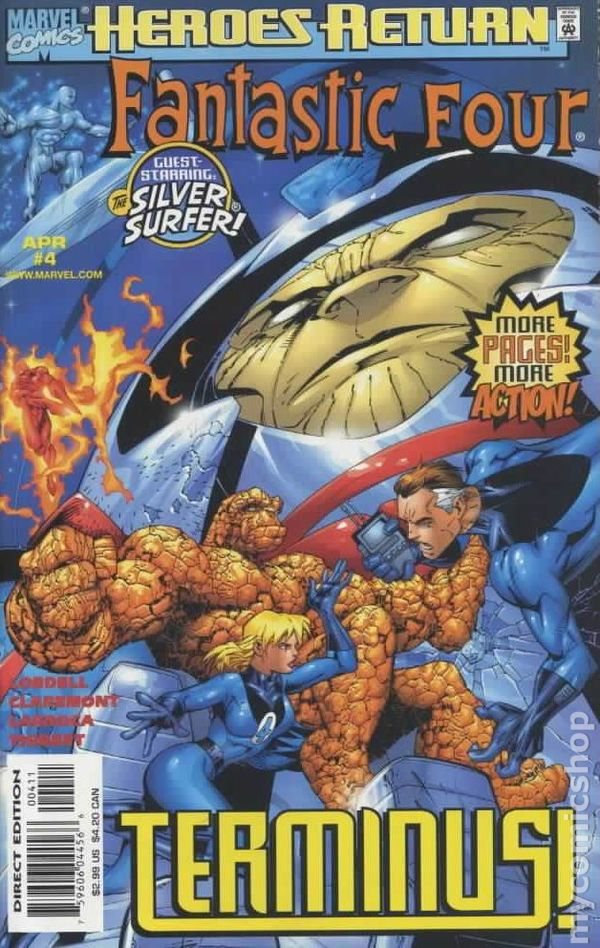 Fantastic Four 1998 series # 23 near mint comic book