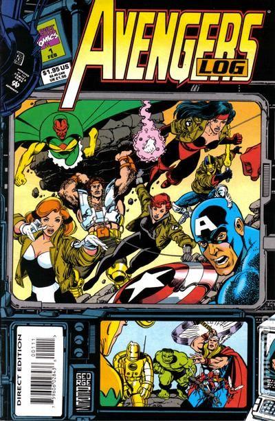Avengers Log 1994 Comic Books