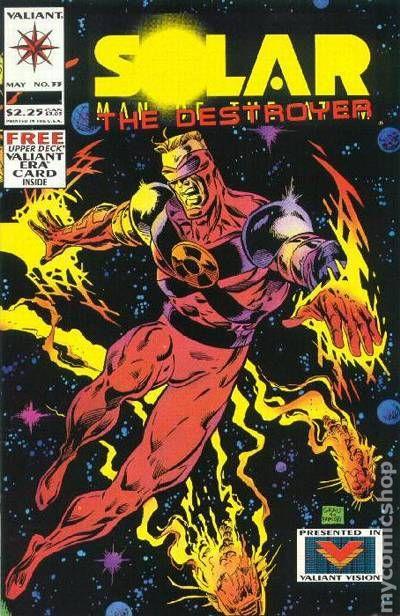 LOT Solar Man of the Atom #23-1st app of Destroyer