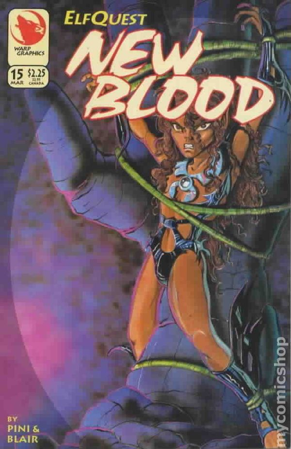 Elfquest 1995 Richard Pini /& Barry Blair New Blood No.33