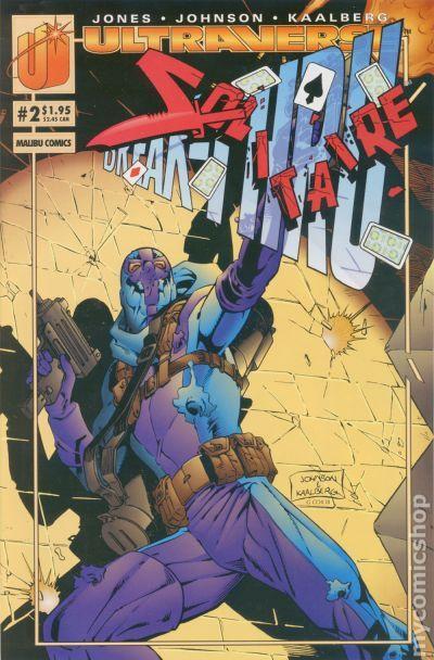 Solitaire (1993) comic books