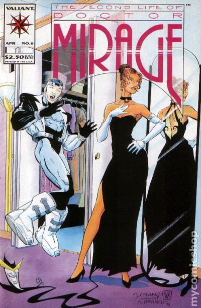 Second Life of Doctor Mirage (1993) comic books