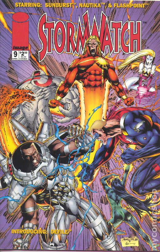 Stormwatch (1993 1st Series) comic books