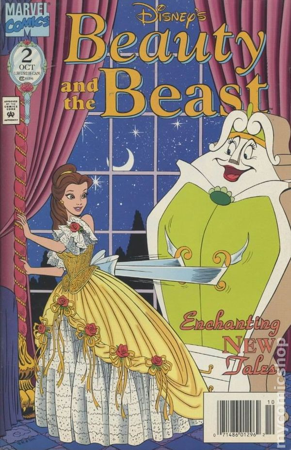 Beauty And The Beast 1994 Marvel Comic Books