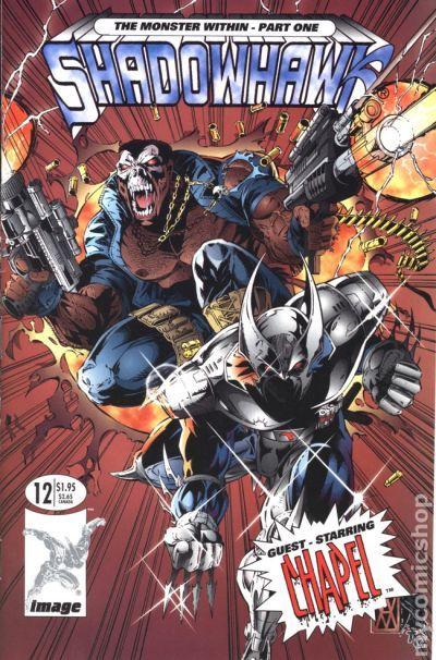 Shadowhawk (1992-1995 1st Series) comic books