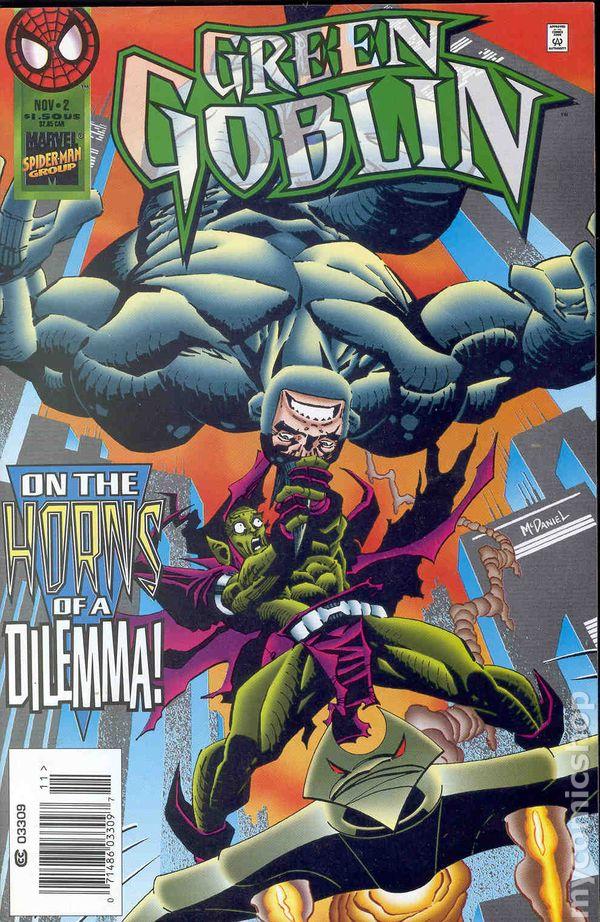 Ultimate Green Goblin Marvel Green Goblin (1995) co...