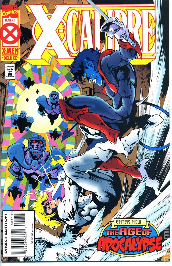 Doom 2099 # 29 deluxe edition with chromium cover USA, 1995