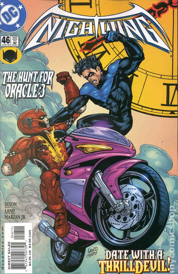 comic books in hunt for oracle