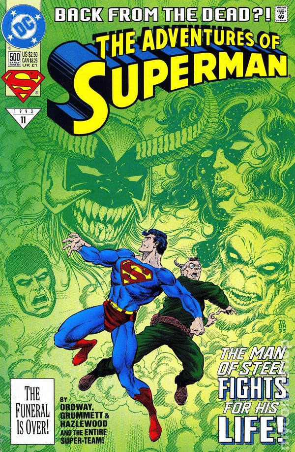 Comic Books In Reign Of The Supermen