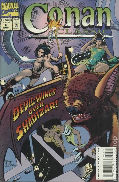 1994 Reprints Conan the Barbarian 7 Barry Windsor-Smith Conan Classic No.7