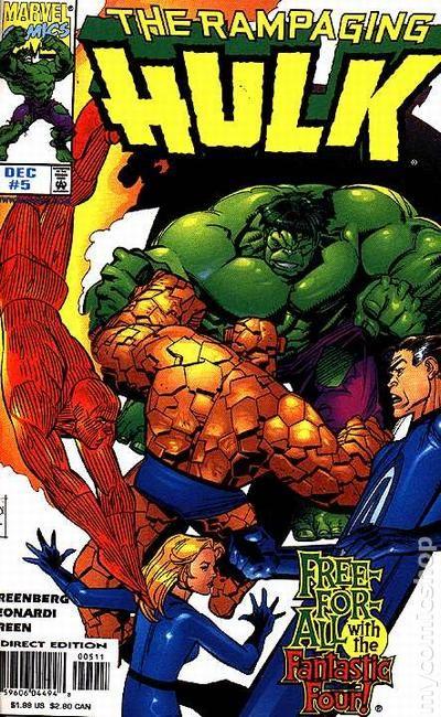 Rampaging Hulk 1998 Comic Comic Books
