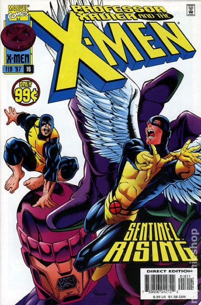 1996 Fred Schiller /& Jan Duursema Professor Xavier and The X-Men No.6