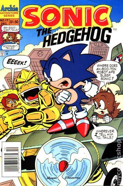 sonic the hedgehog 1993 archie comic books