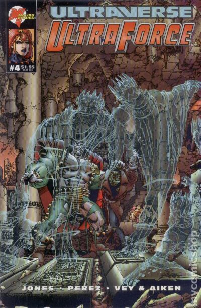 Ultraforce (1994 Malibu) comic books