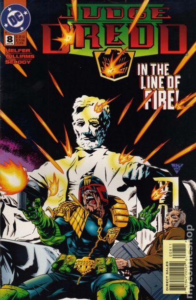 Judge Dredd #2 September 1994 DC Comics Helfer Oeming Palmiotti