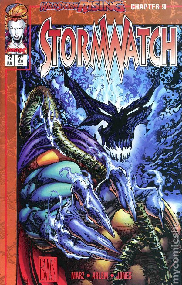 Stormwatch #14 FN 1994 Image Comic