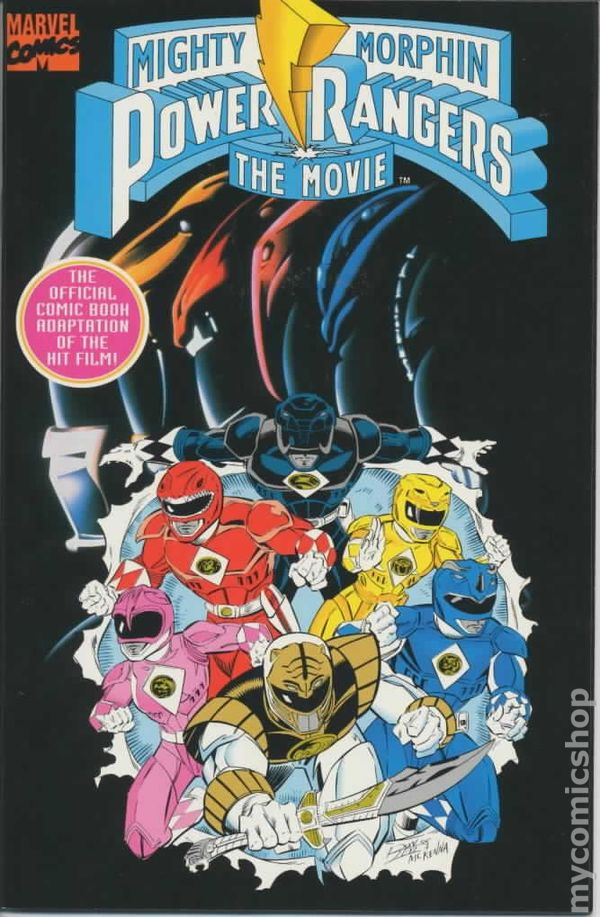 Power mighty comic morphin book rangers