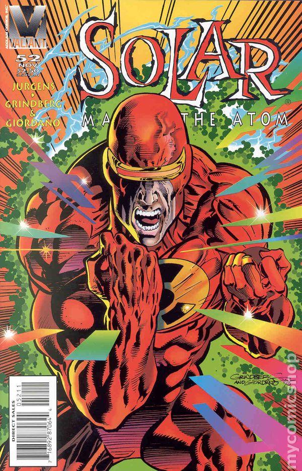Solar Man of the Atom #52 FN 1995 Stock Image