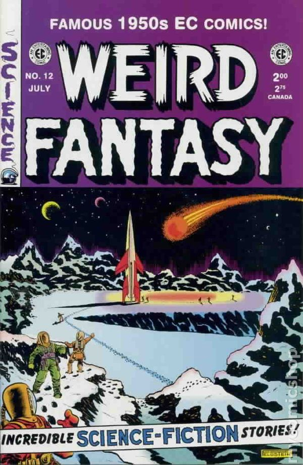 Weird Science-Fantasy #4 VF 1993 Stock Image