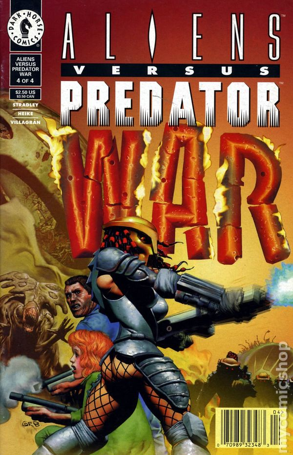 Alien Predator War