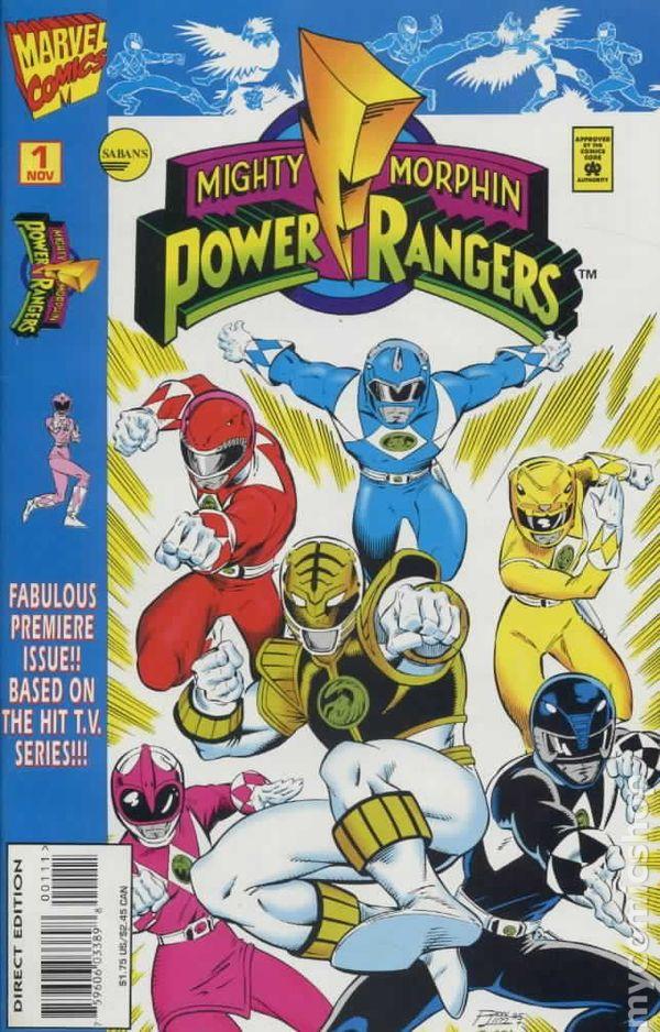 Mighty Morphin Power Rangers 1995 96ic books