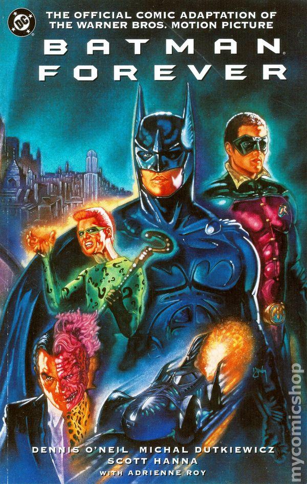 batman forever  1995 movie  comic books