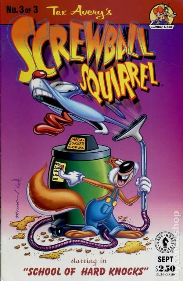 screwball squirrel  1995  comic books