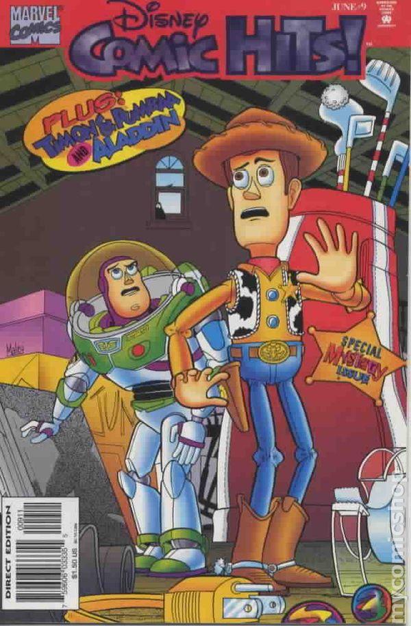 Disney Comic Hits 1995 Comic Books