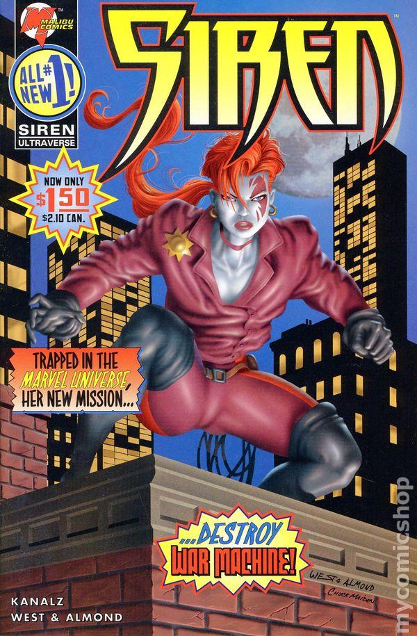 Siren (1995 Malibu) comic books