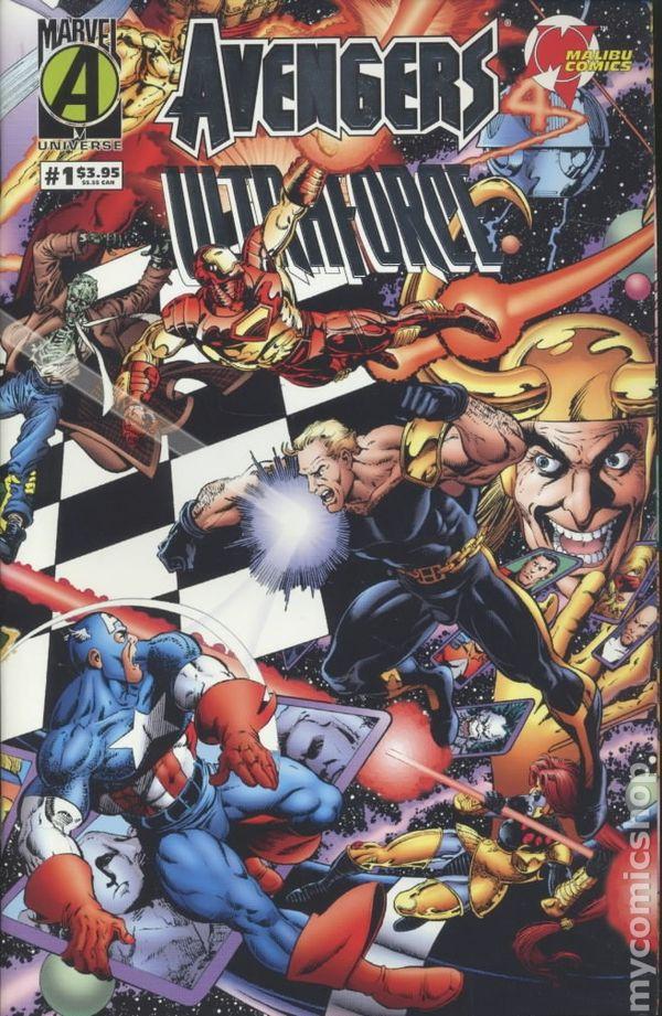 Avengers Ultraforce (1995) comic books