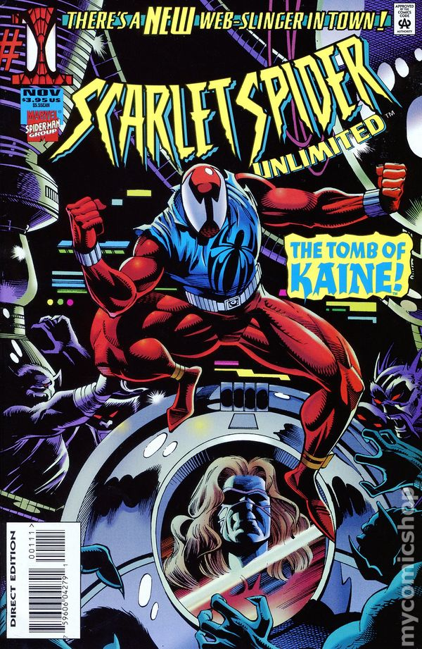 scarlet spider unlimited 1995 comic books
