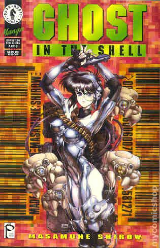 Ghost In The Shell 1995 Comic Books