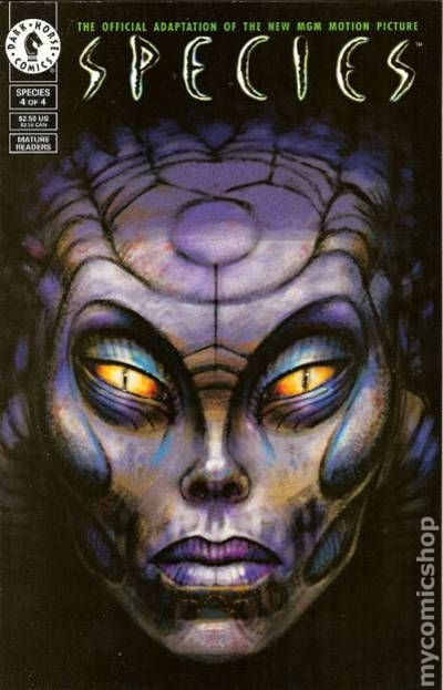 Species 1995 Comic Books
