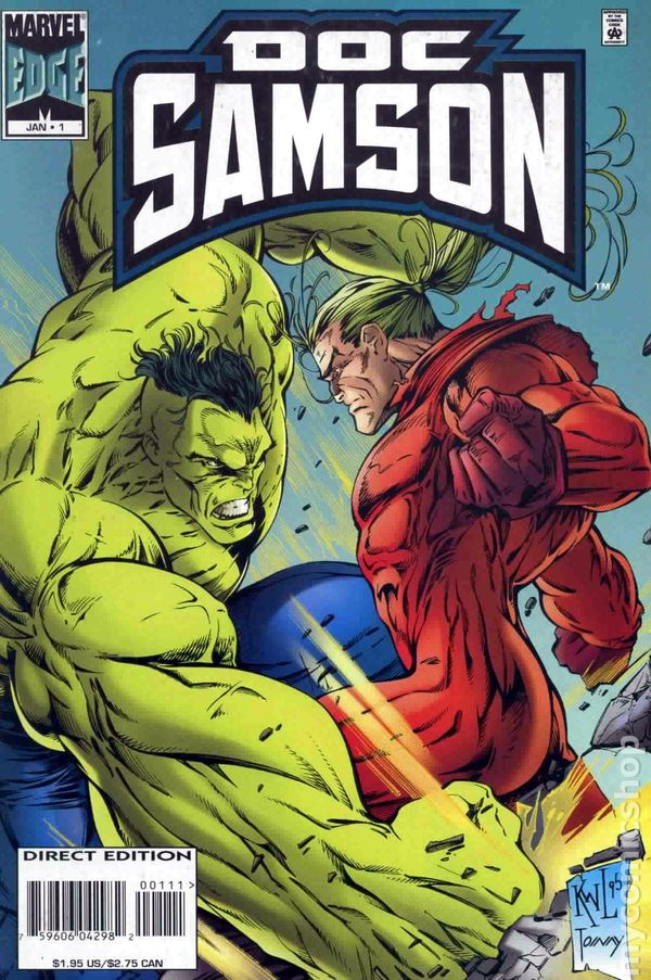 Doc Samson (1995 1st Series) comic books