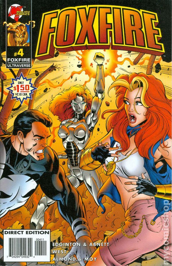 Foxfire (1996 Malibu) comic books