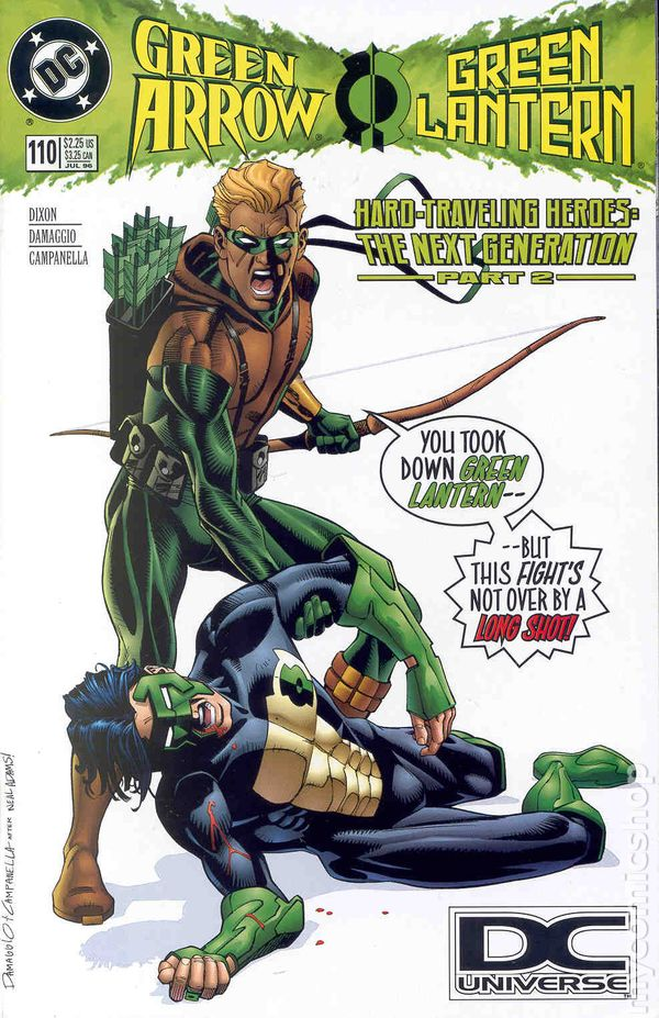 Green Arrow #114 VF 1996 Stock Image