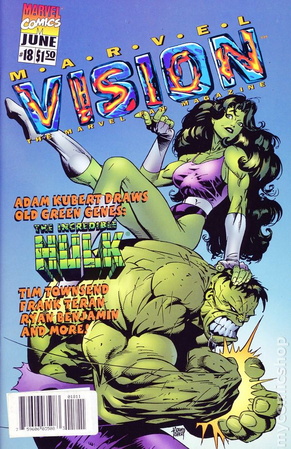 Marvel Vision 1996 Comic Books