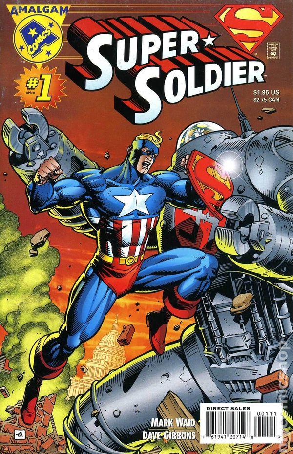 super soldier comic books issue 1