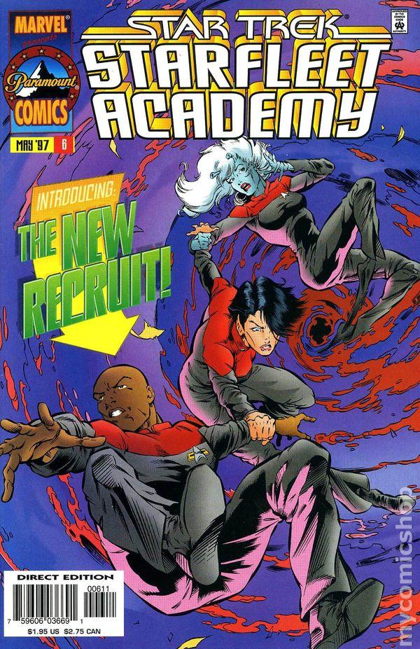 Star Trek Starfleet Academy Marvel Comics 1996-1998 DS9 Bagged and Boarded