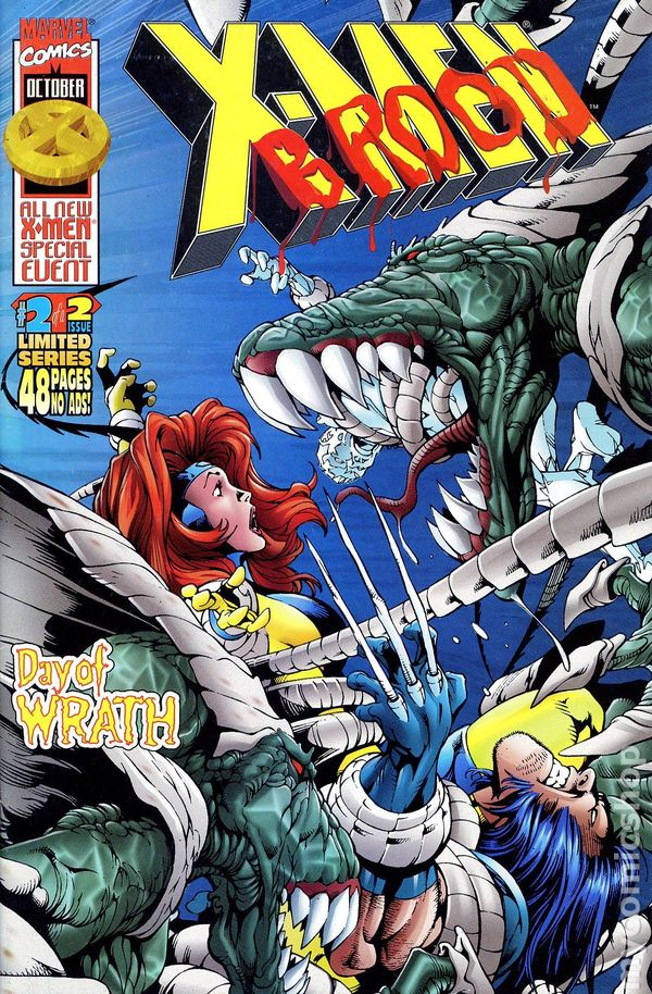 xmen vs brood 1996 comic books