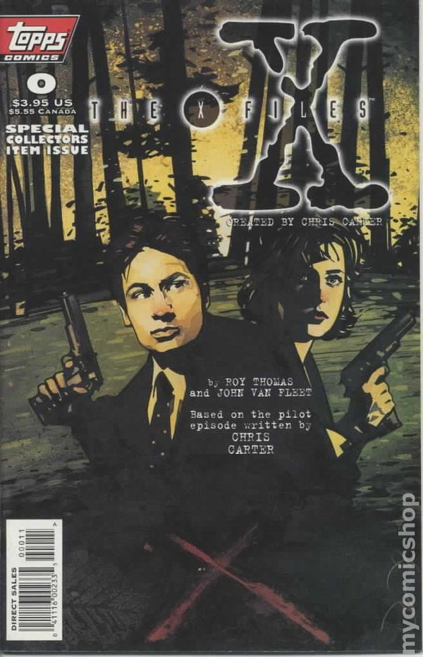 X-files Akte X Comic Usa Topps Special Edition 4 Akte X Bücher & Comics