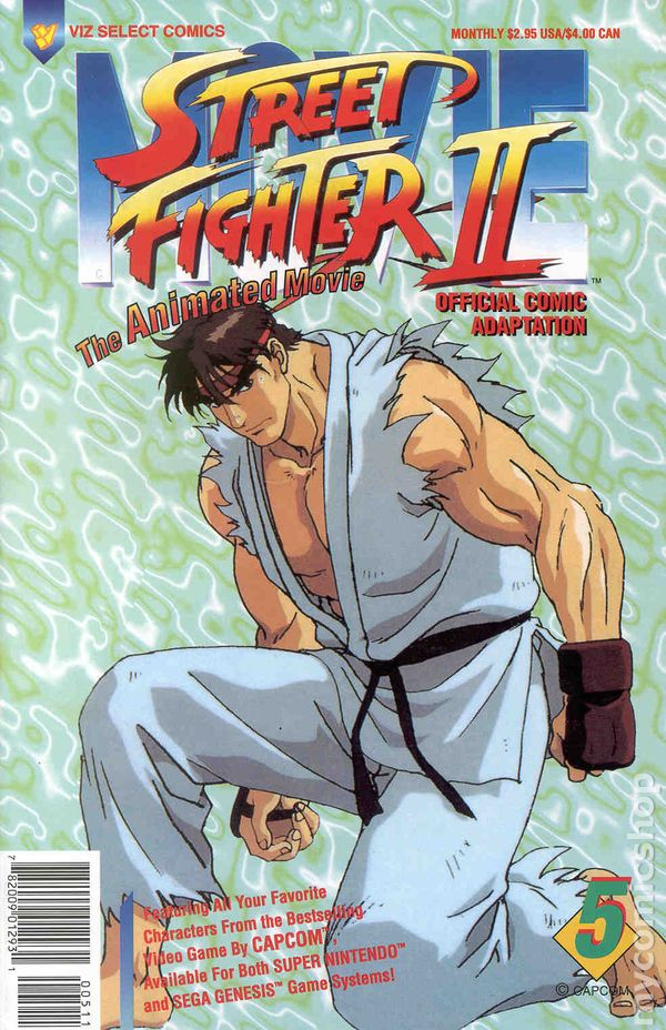 Street Fighter 2 The Animated Movie German